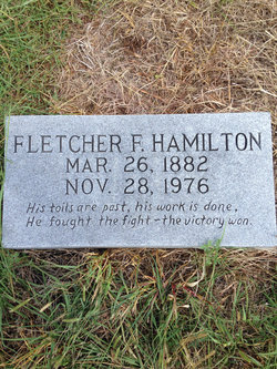 Fletcher F Hamilton