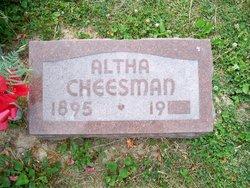 Altha N. <i>Hummer</i> Cheesman