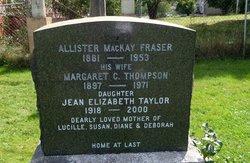 Allister MacKay Fraser