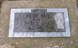 Ruby H <i>Buss</i> Adam