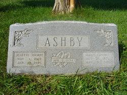 Jenette Nettie <i>Thorpe</i> Ashby