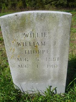 William J Willie Thorpe