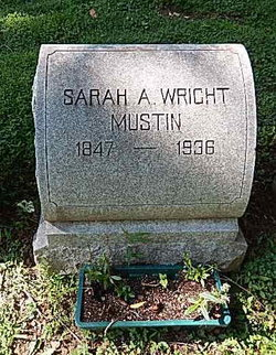 Sarah Ann <i>Wright</i> Mustin