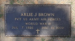 Arlie J Brown