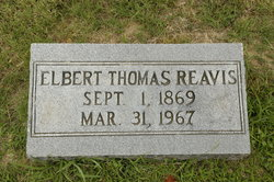 Elbert Thomas Reavis