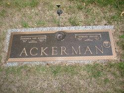 Barbara Lee <i>Scheel</i> Ackerman