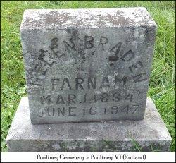Helen <i>Bradon</i> Farnam