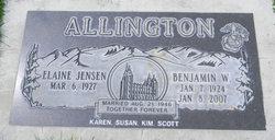 Benjamin W Allington