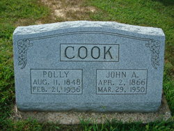 Mary M Polly <i>Mouser</i> Cook