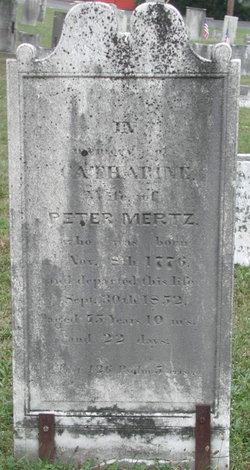Catherine <i>Moats</i> Mertz