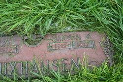 Hannah Marie <i>Flohr</i> Kuxhausen