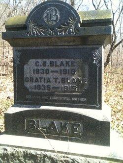 Lieut Cincinnatus Benjamin Nat Blake