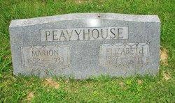 Hannah Elizabeth Jane <i>Albertson</i> Peavyhouse