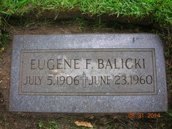 Eugene F Balicki