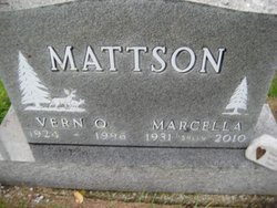 Marcella J Sally <i>Christensen</i> Mattson