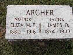 Eliza M. <i>Hargrove</i> Archer