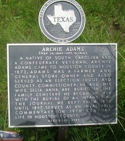 Archibald Lafayette Archie Adams