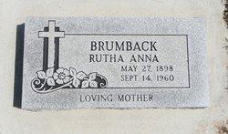 Rutha Anna <i>Bailey</i> Brumback