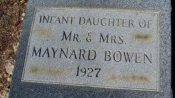 Infant Bowen
