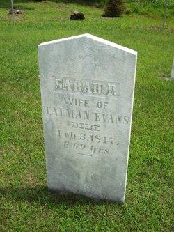 Sarah Page Sally <i>Hoag</i> Evans