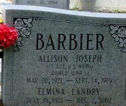 Allison Joseph Barbier