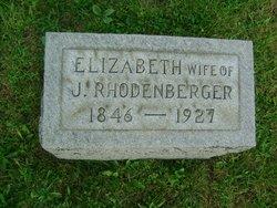 Elizabeth Ann <i>Mathews</i> Rhodenberger