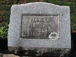 Alice <i>Stevens</i> Albright