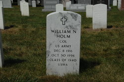 Col William Norman Holm