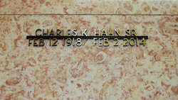 Charles Kenry Charlie Hahn, Sr