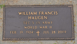 William Francis Haugen