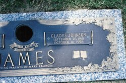 Gladys Jewell <i>Johnson</i> James