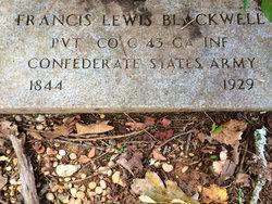 Francis <i>Lewis</i> Blackwell