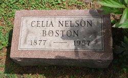 Celia <i>Nelson</i> Boston