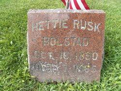 Hettie E <i>Rusk</i> Bolstad