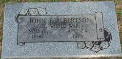 John Edward Albertson