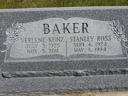 Verlene <i>Kunz</i> Baker