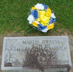 Martin Dewayne Barrier