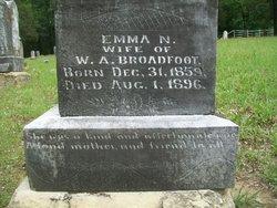 Emma Nuel <i>Pitts</i> Broadfoot