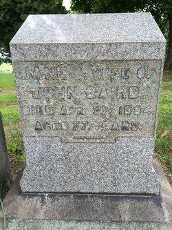 Jane <i>Cannon</i> Baird