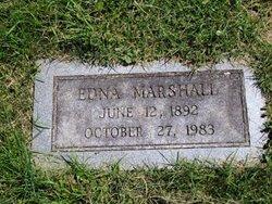 Edna <i>Marshall</i> Buchanan