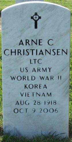 Arne C Christiansen