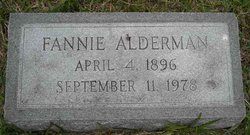 Fannie Alderman