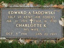 Edward A Sadowski