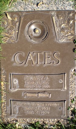 Sidney A Cates