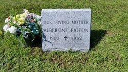 Marie Albertine <i>Sevigny</i> Pigeon