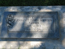 Jenna Vee Jean Bruce <i>Morrison</i> Hammon