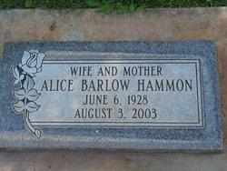 Alice <i>Barlow</i> Hammon