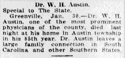 Dr William Henry Austin