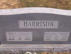 Pauline Decima Polly <i>Madison</i> Harrison
