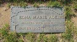 Edna Marie <i>Stout (Stoutjesdyke)</i> Adkins